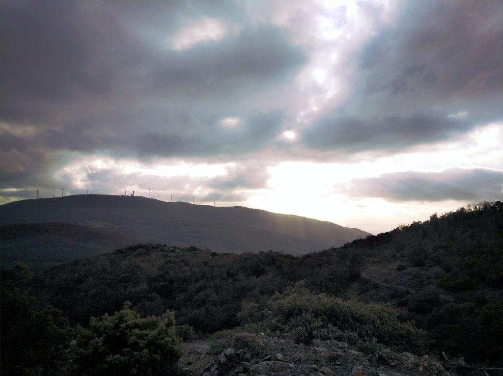 image: Monte Vitalba da monte Vaso