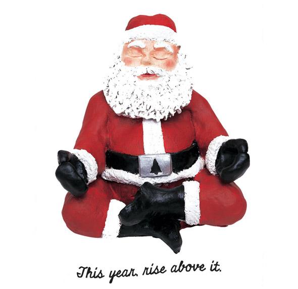 image: rise above Santa