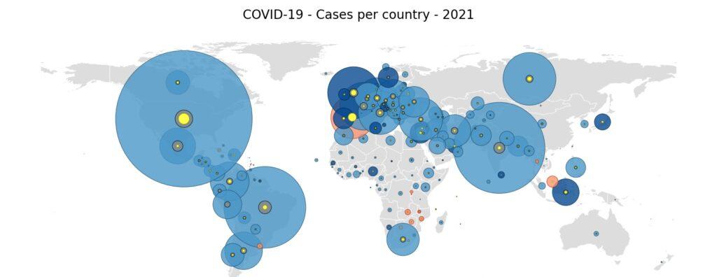 image: Covid-19 World map