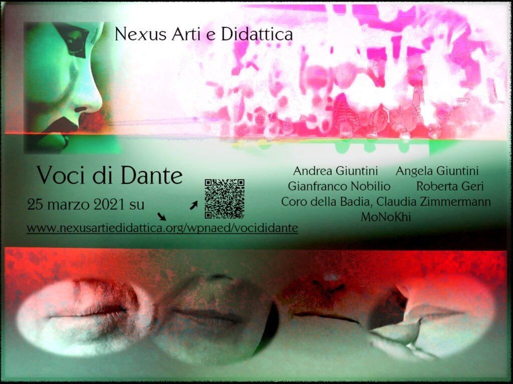 image: Voci di Dante locandina web